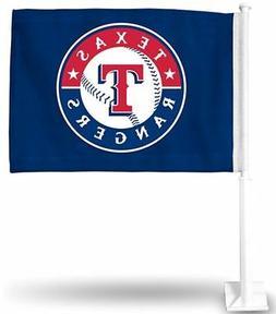 1 Texas Rangers MLB Car Flag