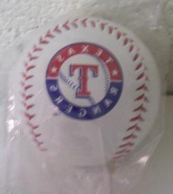 1 Texas Rangers Team Logo Ball MLB Baseball Rawlings