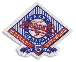 1993 Texas Rangers Arlington Stadium Emblem Official Jersey
