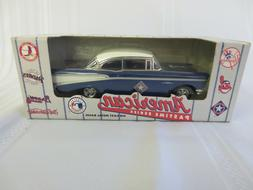 1997 Ertl  TEXAS RANGER 1957 CHEVY AMERICAN PASTIME DIECAST