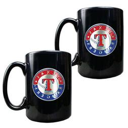 2 Piece Coffee Mug Set TEXAS RANGERS