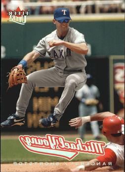 2005 texas rangers baseball card 157 michael