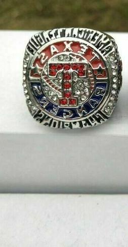 2011 TEXAS RANGERS World Series Championship Ring 18k GOLD P