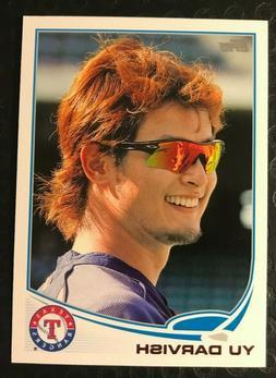 2013 Topps #11 Yu Darvish Photo Variation SP Sunglasses  Tex