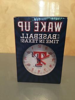 2017 Texas Rangers Talking Alarm Clock