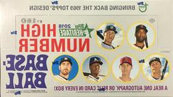 2018 TOPPS HERITAGE HIGH NUMBER Singles Base Inserts Pick Ca