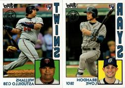 2019 TOPPS SERIES 2 1984 ROOKIES RC INSERT SINGLES - YOU PIC