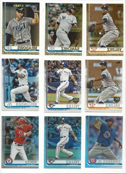 2019 TOPPS SERIES 2 BASE PARALLEL's  - 150th, RAINBOW FOIL,