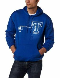 4XL Men's Texas Rangers Hoodie MLB Change Up Authentic Colle