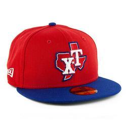 New Era 59Fifty Texas Rangers ALT 3 Fitted Hat  Men's MLB Ca