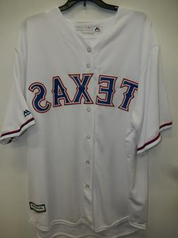 91030 MENS Majestic TEXAS RANGERS Replica Offical Cool Base