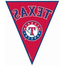 Amscan - Texas Rangers Baseball Pennant Banner - Standard