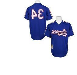 Authentic Mitchell & Ness Texas Rangers #34 Baseball Jersey