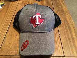 Brand New! 2019 Texas Rangers OU Oklahoma Sooners Hat SGA Aw