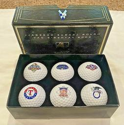 **BRAND NEW** Father's Day 2008 MLB  Set of 6 Titleist Golf