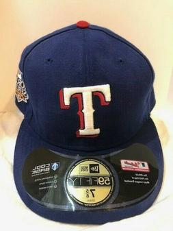 Cap Texas Rangers Fitted Baseball Cap New Era Cool Base Worl