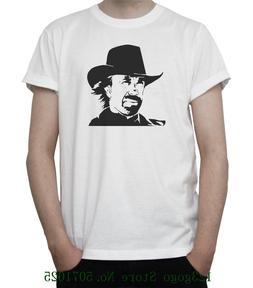 Chuck Norris Bw Portrait T <font><b>Shirt</b></font> Walker