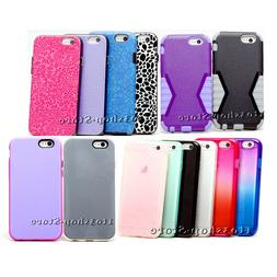 For iPhone 6 & iPhone 6s Case Shockproof Hard Snap Cover