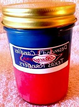 desmond s candles homemade scented texas rangers