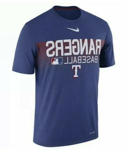 Nike Dri-Fit Texas Rangers Legend Team Issue Shirt Rush Blue