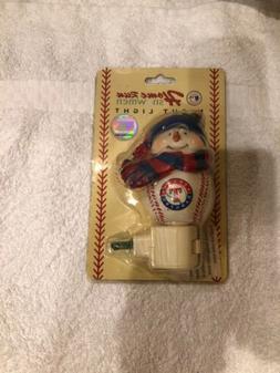 HomeRun Snowmen Night Light MLB Texas Rangers New