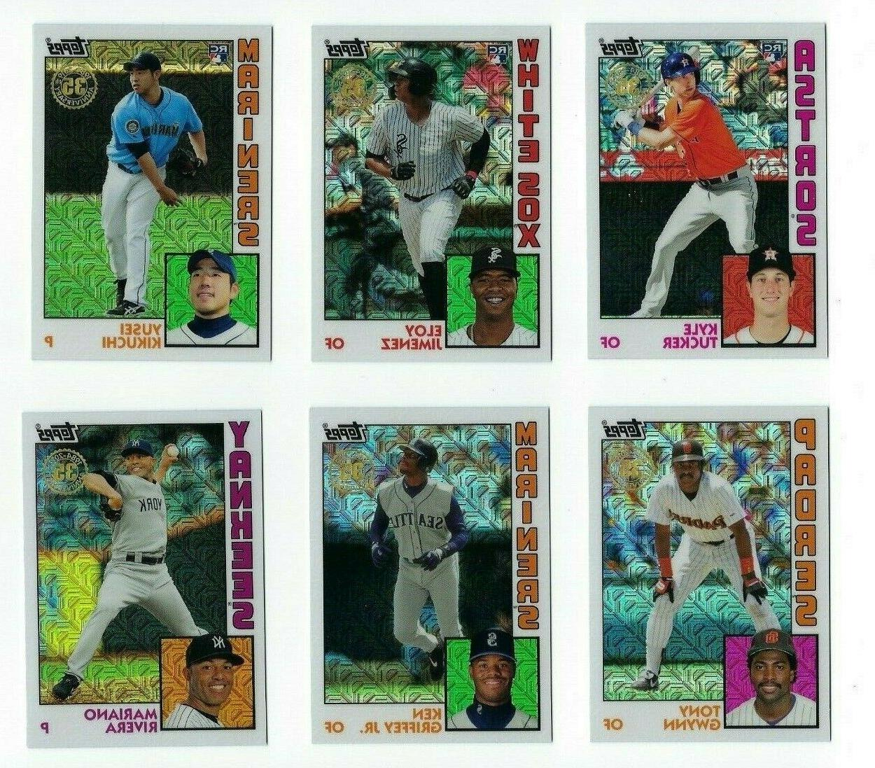 1984 chrome refractor silver pack complete your