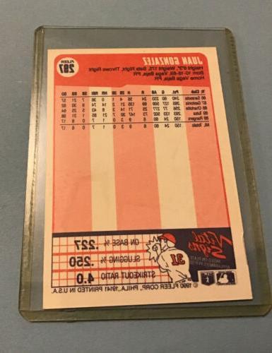 1990 Fleer Baseball Card Rangers