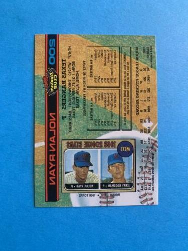 1991 Nolan Ryan Texas Rangers #200