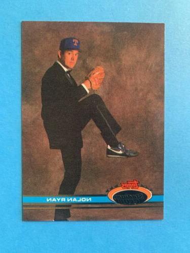 1991 topps stadium club nolan ryan texas