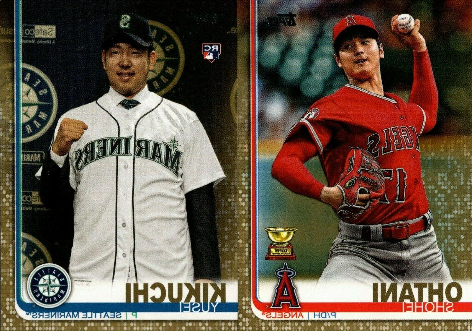 2019 topps series 2 base gold 500