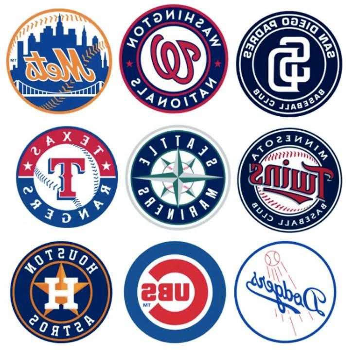 Baseball Teams Vinyl for Truck/Skateboard/Luggage/Laptop/Par
