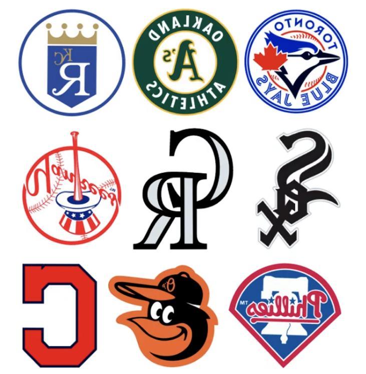 Baseball Teams Logo Vinyl