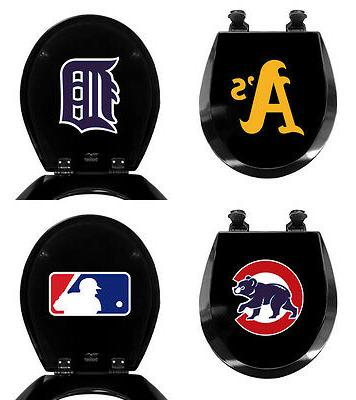 fc671 mlb baseball themed black finish molded