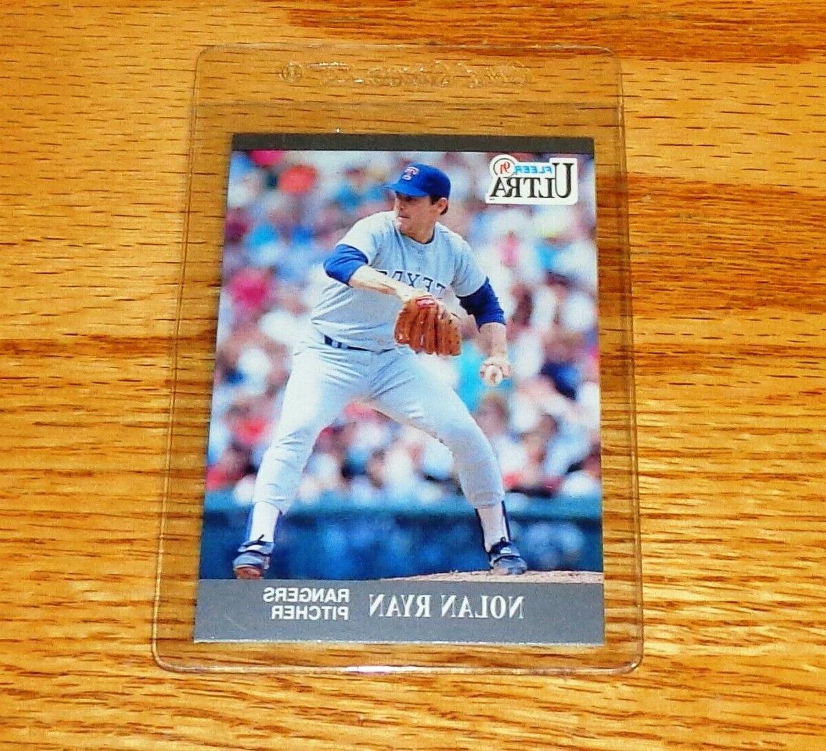 new baseball card nolan ryan 1991 ultra