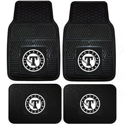 new mlb texas rangers front back rubber
