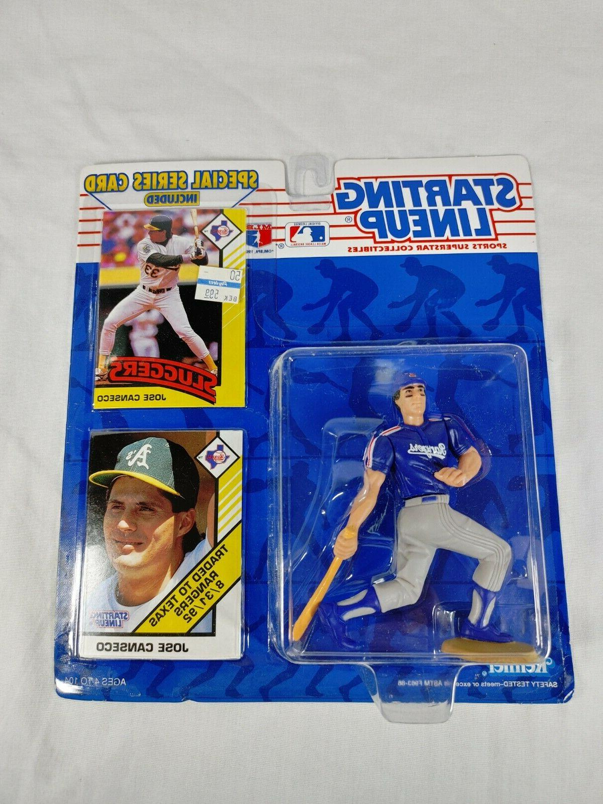 starting lineup 1993 figure and card jose