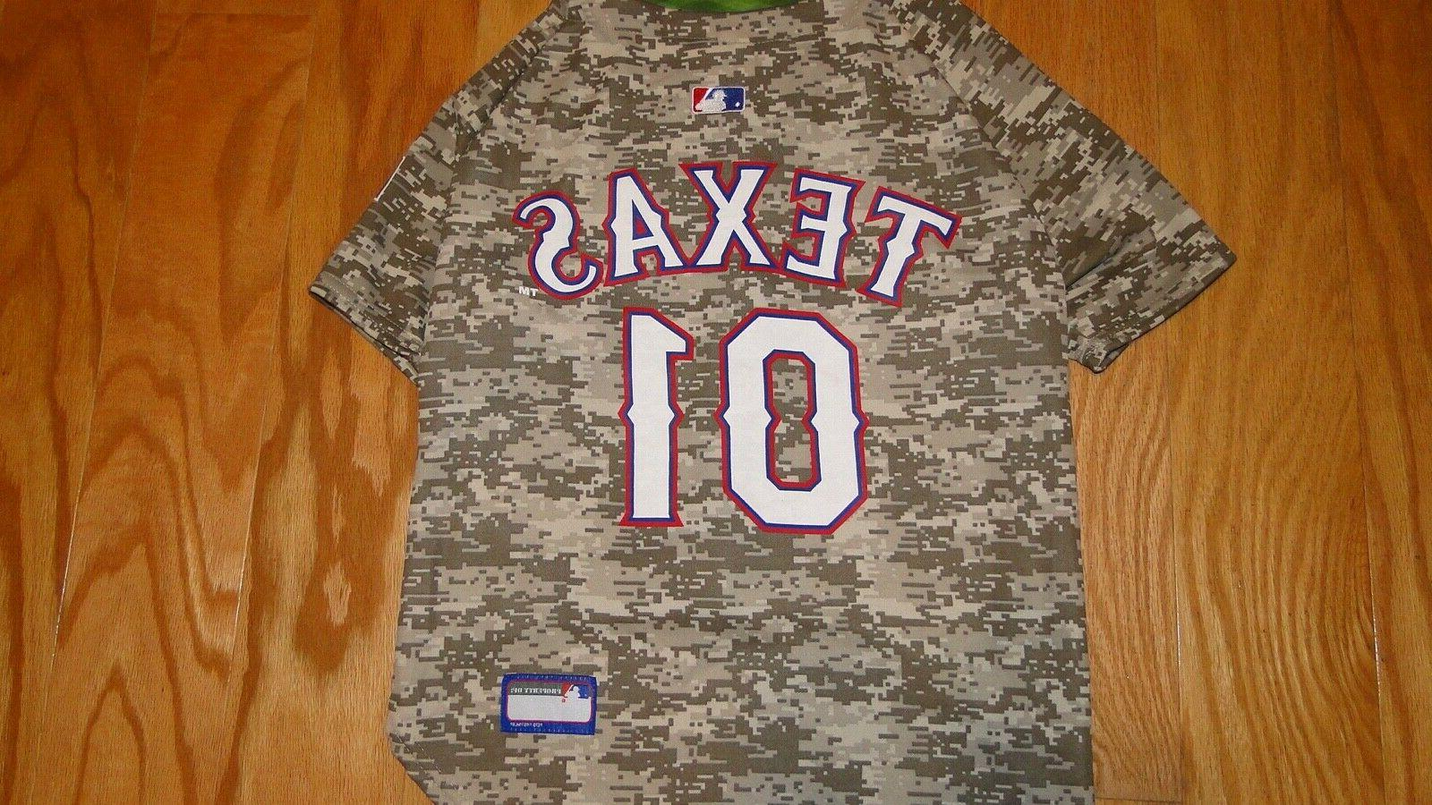 """Pets First Texas Camo Size 24""""-28"""" Wear MLB"""