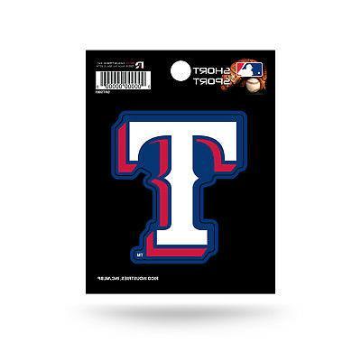 "Texas Rangers 3"" x 2"" Die-Cut Decal Window, Car or Laptop!"