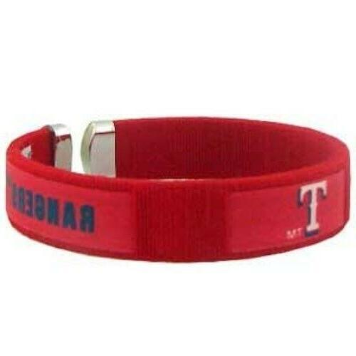texas rangers fan band cuff bracelet