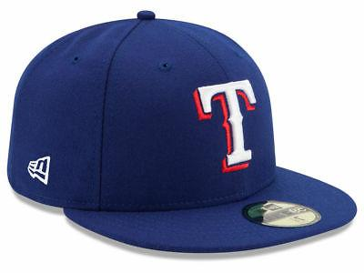 texas rangers game 59fifty fitted hat royal