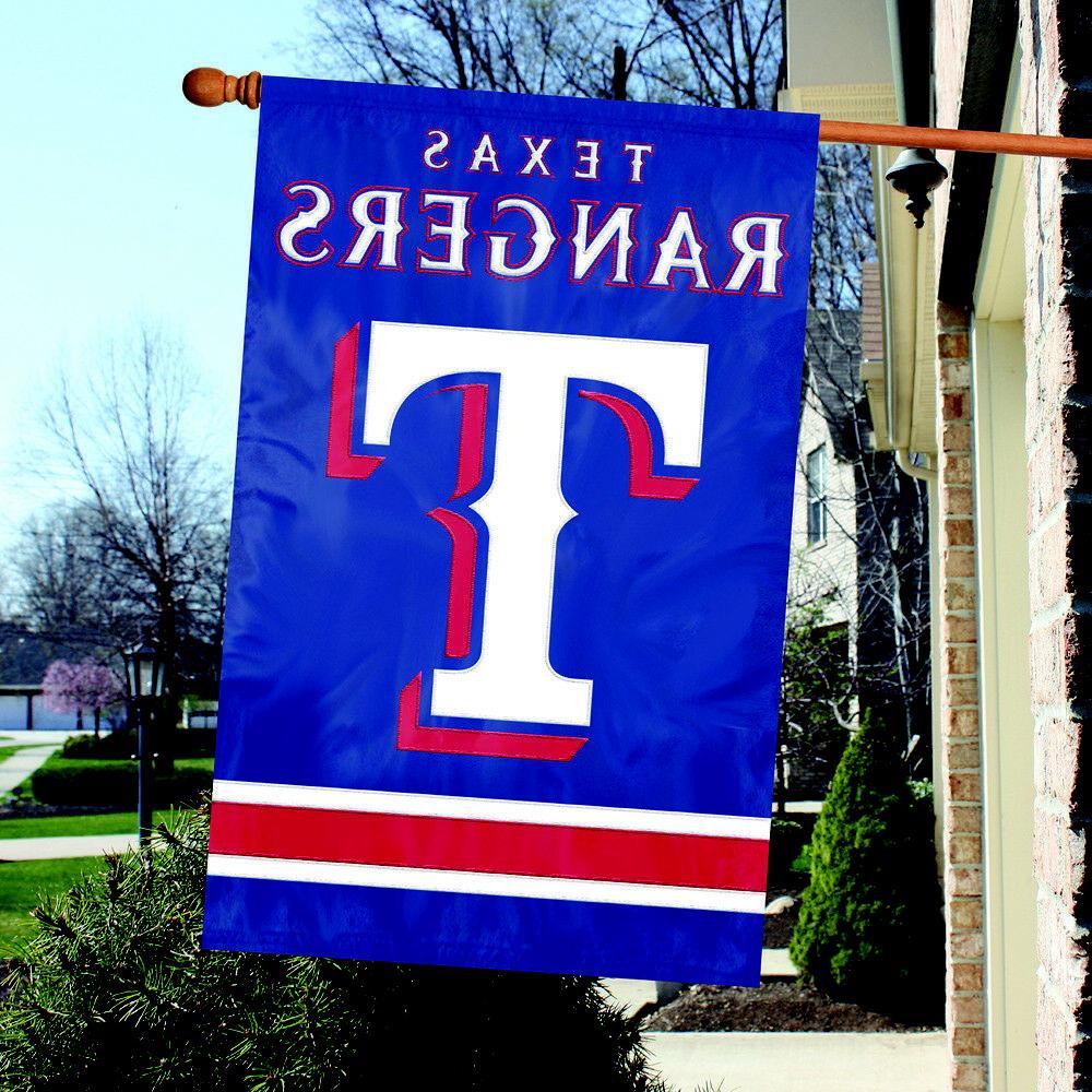 Party Animal Texas Rangers House Flag