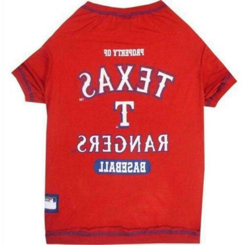 texas rangers pet t shirt