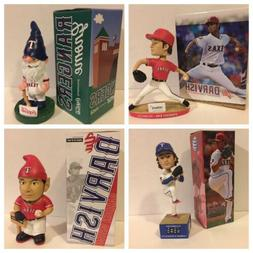 LOT of multiple Bobblehead statues figurines Texas Rangers H