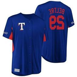 Men's Majestic Adrian Beltre Royal Texas Rangers Jersey