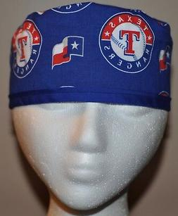 Men's MLB Texas Rangers Scrub Cap/Hat - One Size Fits Most