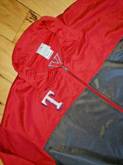 Mens MLB Genuine Merchandise Texas Rangers Full Zip Jacket S