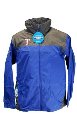 "Mens Texas Rangers MLB Columbia ""Glennaker Lake"" Omni-Shield"
