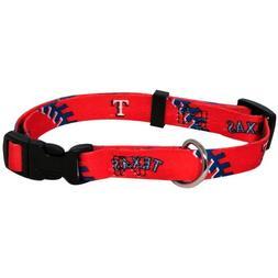 Hunter Mfg. Texas Rangers Dog Collar - Small