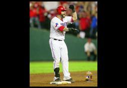 MIKE NAPOLI Texas Rangers 2011 World Series Premium NBA 16x2