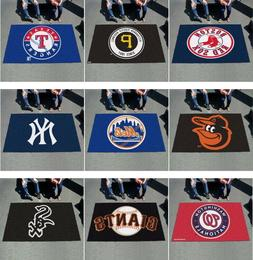 MLB Area Rugs 5 Ft x 8 FT Ultimat All Teams Tailgate Gameroo